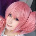 魔法少女まどか☆マギカ 鹿目まどか ショート ピンク ショート 耐熱新素材 ショート コスプレウィッグ