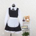 コスチューム ミニスカート ブラック ホワイト コスプレ衣装