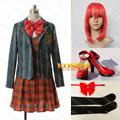 うたの☆プリンスさまっ♪ 早乙女学園 七海春歌 女子制服 衣装+ウイッグ+靴 3点セット