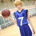 黒子のバスケ 海常高校 黄瀬涼太(きせ りょうた) ユニフォーム コスプレ衣装(番号7)