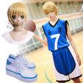 黒子のバスケ 海常高校 黄瀬涼太 コスプレ衣装+コスプレウイッグ+コスプ靴レ 3点セット