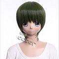 黒子のバスケ 緑間真太郎(みどりま しんたろう)緑 グリーン ショート コスプレウィッグ