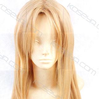 Sword Art Online Asuna Yuuki  Brown Long Straight Cosplay Wig