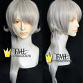 Sound Horizon Marchen Garasu no Hitsugi de Nemuru Himegimi 7th Marchen Silver Medium Cosplay Wig