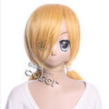 Binbo-gami ga! Momiji Gold Long Cosplay Wig