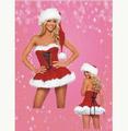 クリスマス コスチューム ハッピー サンタ衣装