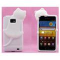 kiki猫 Samsung ケース イヤホンジャック用ピアス付き 携帯ケース