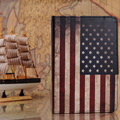 アメリカ国旗 iPad ケース レザー iPad mini iPad2/3 ipad4 ケース
