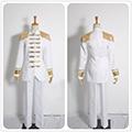 進撃の巨人 -反撃の翼- ONLINE リヴァイ兵長 上級勅令憲兵 白い軍服 コスプレ衣装