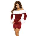 クリスマス コスチューム レディースサンタ衣装 女性用 ドレス ワンピース