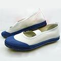 境界の彼方 栗山 未来(くりやま みらい) ブルー/レッド(両色選択可) 合皮 ゴム底 低ヒール コスプレ靴