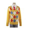 境界の彼方 神原 秋人(かんばら あきひと) セーター 菱形セーター フリーサイズ コスチューム コスプレ衣装