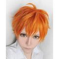 ハイキュー!! 日向 翔陽(ひなた しょうよう) オレンジ  ショート コスプレウィッグ