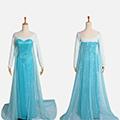 アナと雪の女王 Frozen Disney エルサ(Elsa) ワンピース コスプレ衣装