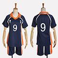 ハイキュー!! 影山 飛雄(かげやま とびお) 烏野高校排球部 番号9 ユニフォーム コスプレ衣装