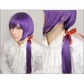 神々の悪戯 草薙 結衣(くさなぎ ゆい) ロング 紫 コスプレウィッグ
