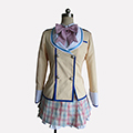 彼女がフラグをおられたら 魔法ヶ沢茜(まほうがさわ あかね) 制服 コスプレ衣装