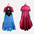 アナと雪の女王 Frozen Disney アナ 私服 コスプレ衣装