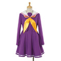NO GAME NO LIFE Shiro Cosplay Costume