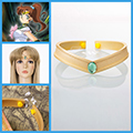 美少女戦士セーラームーン 木野 まこと (きの まこと) セーラージュピター 額飾り  コスプレ道具