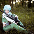 Sword Art Online II Shino Asada Cosplay Costume