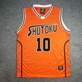 黒子のバスケ 秀徳高校 高尾 和成(たかお かずなり) 10番 ユニフォーム コスプレ衣装