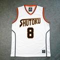 黒子のバスケ 秀徳高校 8番 宮地 清志(みやじ きよし) ユニフォーム コスプレ衣装