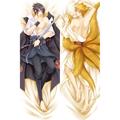 NARUTO -ナルト- うちはサスケ/うずまきナルト 等身大抱き枕カバー、オリジナル抱き枕カバー、アニメ抱き枕