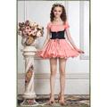 お姫様 春夏高級スカート 半袖 多色選択可