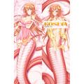モンスター娘のいる日常 ミーア 等身大抱き枕カバー、アニメ抱き枕、オリジナル抱き枕カバー Ver.2