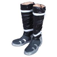 甲鉄城のカバネリ 来栖(くるす) 合皮 ゴム底 コスプレ靴
