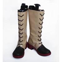 甲鉄城のカバネリ 四方川菖蒲(よもかわ あやめ) 合皮 ゴム底 コスプレ靴