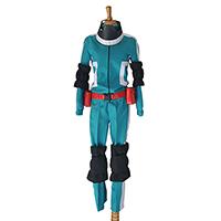僕のヒーローアカデミア 緑谷出久(みどりや いずく) 戦闘服 コスプレ衣装