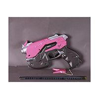 オーバーウォッチ DVA 道具拳銃 コスプレ道具