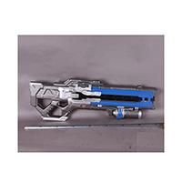 オーバーウォッチ ソルジャー セブンティーシックス (Solider 76) 道具拳銃 コスプレ道具