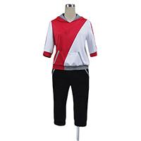 ポケモンGO 調教師 赤色 コスプレ衣装