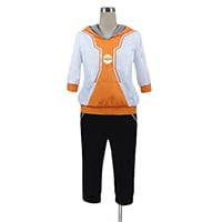 ポケモンGO 調教師 オレンジ コスプレ衣装