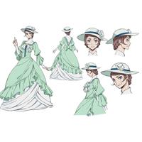 文豪ストレイドッグス マーガレット・ミッチェル コスプレ衣装