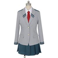 僕のヒーローアカデミア 麗日お茶子(うららか おちゃこ) 雄英高校 制服    コスプレ衣装