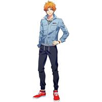 A3!(エースリー)  夏組   皇天馬(すめらぎてんま)  コスプレ衣装