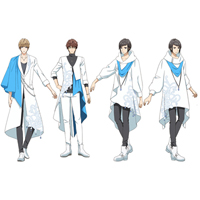 TSUKIPRO THE ANIMATION QUELL/クヴェール全員    コスプレ衣装 予約開始!
