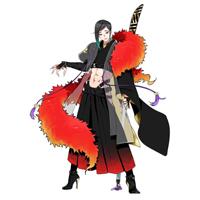 刀剣乱舞 新刀剣男士 静形薙刀(しずかがたなぎなた) コスプレ衣装