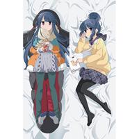 ゆるキャン  志摩リン(しま リン) 等身大抱き枕カバー、オリジナル抱き枕カバー、アニメ抱き枕