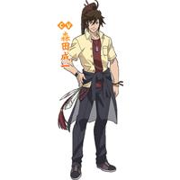 学園BASARA   前田慶次/慶次郎 (まえだけいじ)   コスプレ衣装