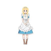 ソードアート・オンライン(Sword Art Online)(アリシゼーション編)  アリス・ツーベルク  コスプレ衣装