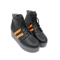 【ヒプノシスマイク ブーツ 】山田一郎(やまだ いちろう) 合皮 ゴム底 コスプレ靴 コスプレブーツ