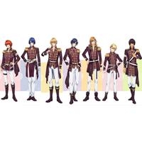 劇場版 うたのプリンスさまっ マジLOVEキングダム ST☆RISH 全員 コスプレ衣装 予約開始!