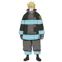 炎炎ノ消防隊  トオル岸理(トオル・キシリ)   コスプレ衣装