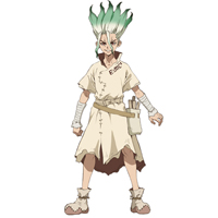 Dr.STONE(ドクターストーン)  石神千空(いしがみ せんくう) コスプレ衣装