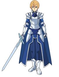 ソードアート・オンライン SAO  Alicization War of Underworld  ユージオ  コスプレ衣装